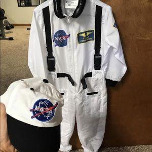 NASA astronaut Halloween costume 2t-4t